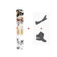 Ski K2 Pon2oon 2019 + Fixations randonnée + Peau1010200.101.1