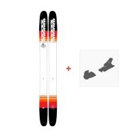 Ski K2 Catamaran 2018 + Fixation de ski