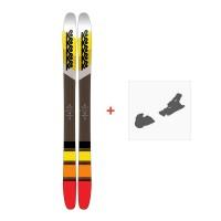 Ski K2 Marksman 2018 + Fixation de ski