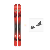Ski K2 Wayback 104 2018 + Fixation de ski10B0200.101