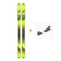 Ski K2 Wayback 96 2018 + Fixation de ski