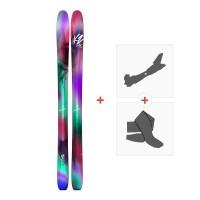 Ski K2 Luv Boat 105 2018 + Fixations randonnée + Peau10A0102.101.1