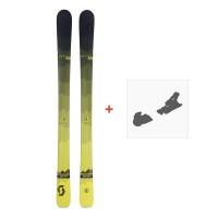 Ski Scott Slight 100 2018 + Fixation de ski254201