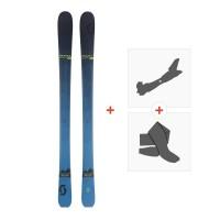 Ski Scott Slight 93 2018 + Fixations randonnée + Peau