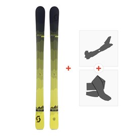 Ski Scott Slight 100 2018 + Fixations randonnée + Peau254201