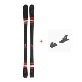 Ski Scott Black Majic 2018 + Fixation de ski254202