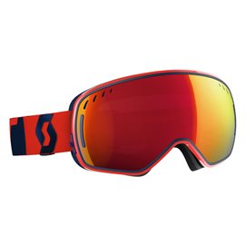 Scott Goggle LCG Fluo Red/Eclipse Blue/Amplifier Red Chrome 2017