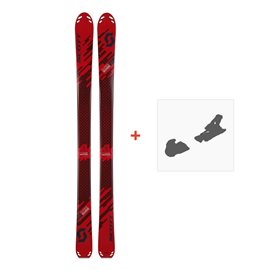 Ski Scott Superguide 88 W's 2018 + Fixation de ski254212
