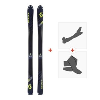 Ski Scott Superguide 88 2018 + Fixations randonnée + Peau