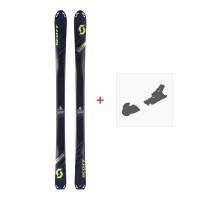 Ski Scott Superguide 88 2018 + Fixation de ski254211