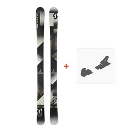Ski Scott Punisher 105 2018 + Fixation de ski254207