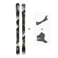 Ski Scott Punisher 105 2018 + Fixations randonnée + Peau