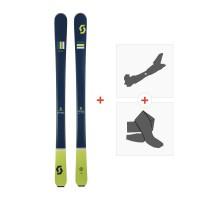 Ski Scott The Ski 2018 + Fixations randonnée + Peau254203