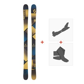 Ski Scott Punisher 95 2018 + Fixations randonnée + Peau254208