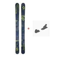 Ski Scott Scrapper 124 2018 + Fixation de ski254205