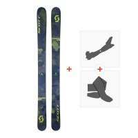 Ski Scott Scrapper 124 2018 + Fixations randonnée + Peau254205