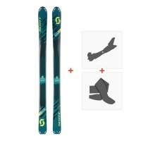 Ski Scott Superguide 95 2018 + Fixations randonnée + Peau254210