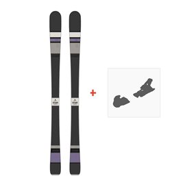 Ski Scott Black Majic 2015 + Fixation de ski236392