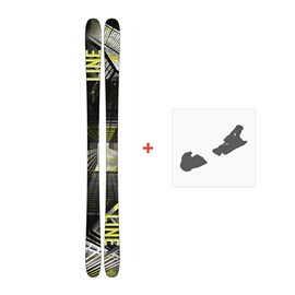 Ski Line Tom Wallisch Pro 2018 + Fixation de ski