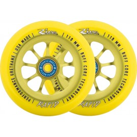 River Rapids Sunrise Pro Scooter Wheels 2-Pack 2018RVWHRP10YW