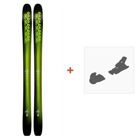 Ski K2 Pinnacle JR + Fasttrak JR. 7.0 Binding 2018
