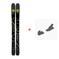 Ski Volkl Confession Flat 2018 + Fixation de ski