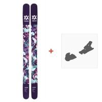 Ski Völkl Bash 116W 2018 + Fixation de ski