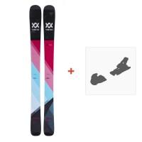 Ski Völkl Aura 2018 + Fixation de ski