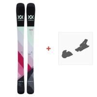 Ski Völkl Yumi 2018 + Fixation de ski117410