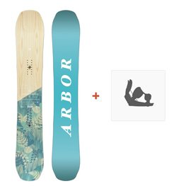 Snowboard Arbor Swoon Cambe 2017 + Fixation