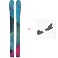 Ski Elan Ripstick 86 W 2018 + Fixation de skiADGDFC