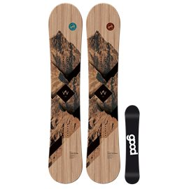 Snowboard Goodboard Wooden Camber
