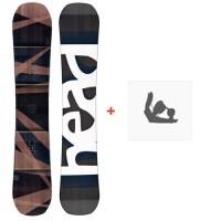 Snowboard Head Daymaker 2018 + Fixation