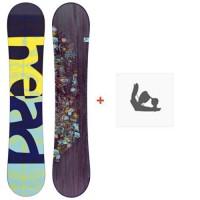 Snowboard Head Stella 2018 + Fixation