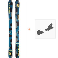 Ski Scott Kid Scrapper 2017 + Fixation de ski