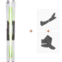 Ski Völkl Vta 80 Lite 2017 + Fixations randonnée + Peau