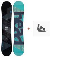 Snowboard Head Hope 2018 + Fixation