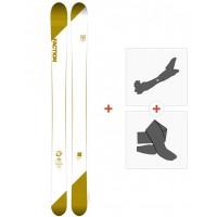 Ski Faction Candide 4.0 2018 + Fixations randonnée + Peau
