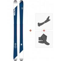 Ski Faction Candide 1.0 2018 + Fixations randonnée + Peau
