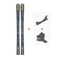 Ski Dynastar Cham Alti 85 2017 + Fixations randonnée + Peau