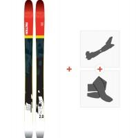 Ski Faction Prodigy 2.0 2018 + Fixations randonnée + Peau