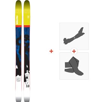 Ski Faction Prodigy 3.0 2018 + Fixations randonnée + PeauSKI-1718-PRD30