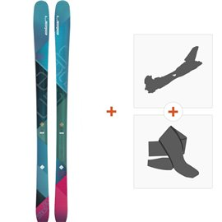Ski Elan Ripstick 86 W 2018 + Fixations randonnée + PeauADGDFC