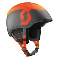 Scott Seeker Plus Helmet - Earth Grey/Fluo Orange Matt