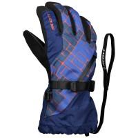 Scott Glove JR Ultimate Premium pacific blue/maroccan red