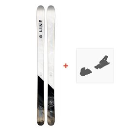 Ski Line Supernatural 86 2018 + Fixation de ski