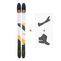 Ski Volkl VTA 98 2018 + Alpine Touring Bindings + Climbing skin117378