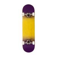 """Rocket Complete Skateboard Twin Fade Series Yellow Purple 7.75\\"""" 2017RKT-COM-1524"""