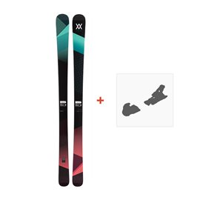 Ski Völkl Yumi 2017 + Fixation de ski116390