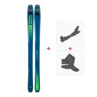 Ski Dynafit Tour 88 2019 + Fixations randonnée + Peau08-0000048461